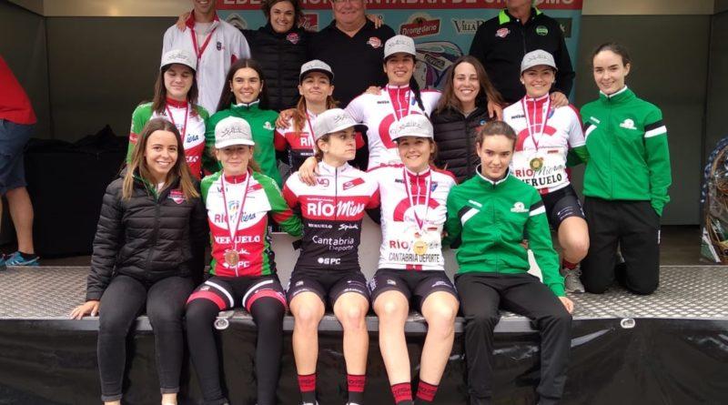 Siete medallas y tres títulos en el Cto. de Cantabria CRI
