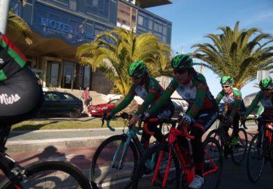 Ocho ciclistas en el Campeonato de España cadete